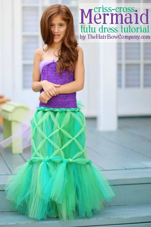 10 frugal DIY Halloween costumes- Mermaid