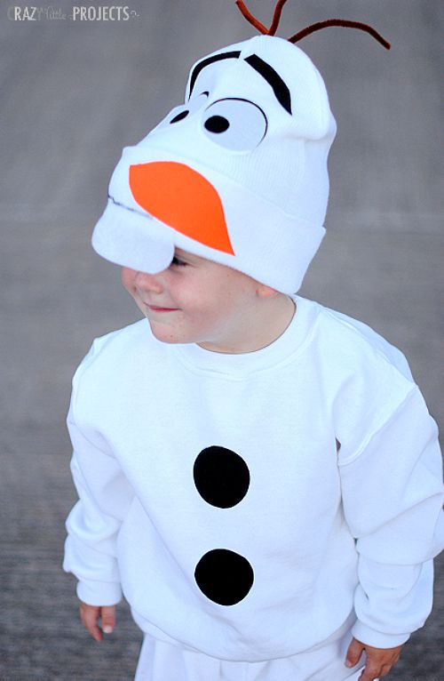10 frugal DIY Halloween costumes- Olaf