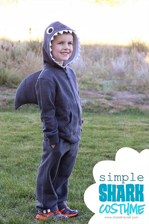 10 frugal DIY Halloween costumes- Shark