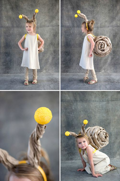 10 frugal DIY Halloween costumes- Snail