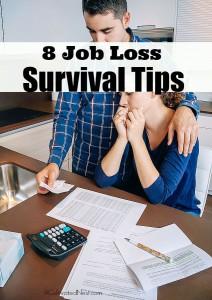 8 Job Loss Survival Tips