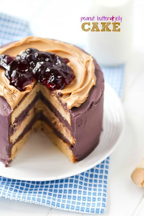 10 delicious twists on peanut butter and jelly- cake