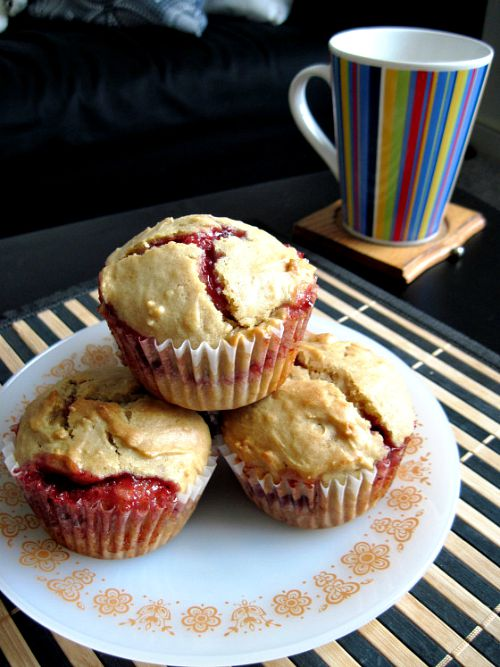 10 delicious twists on peanut butter and jelly- muffins