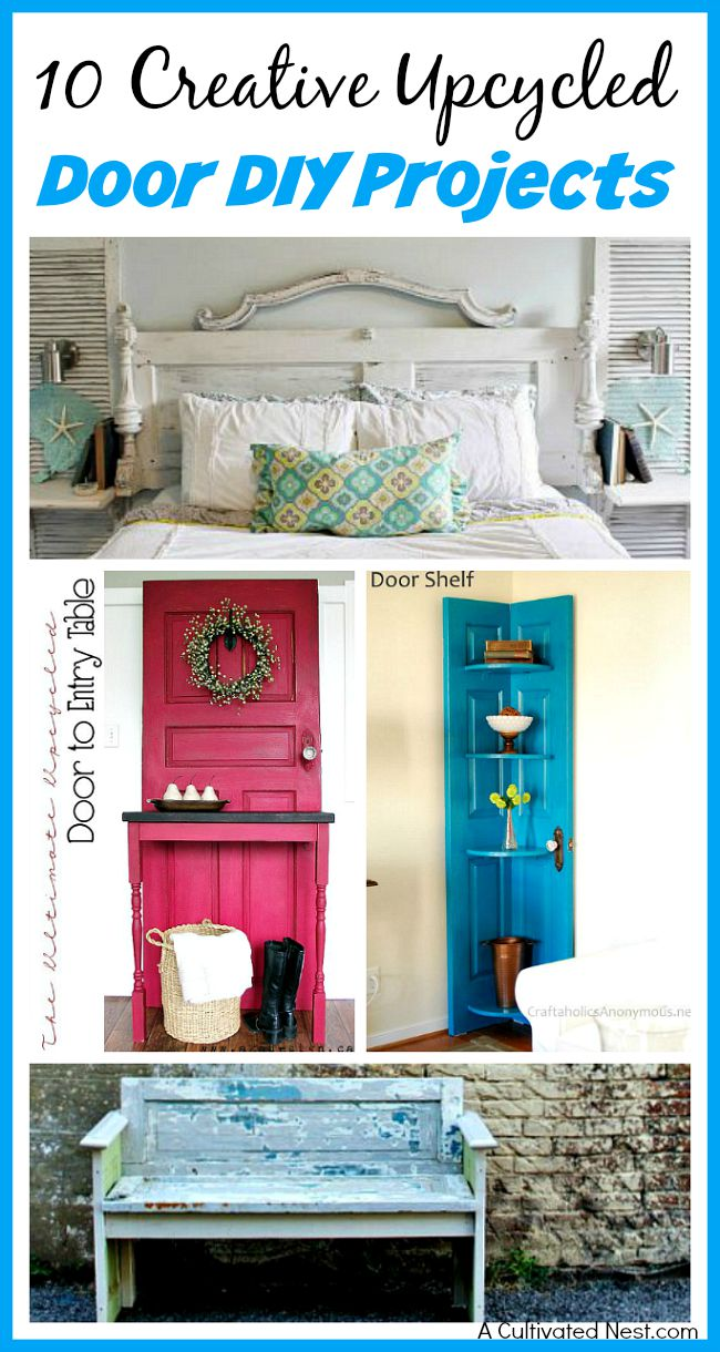 10 Creative Upcycled Door DIY Projects