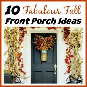 10 Fabulous Fall Front Porch Ideas