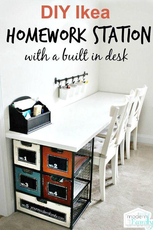10 useful back to school organization ideas - School desk organization ideas ...