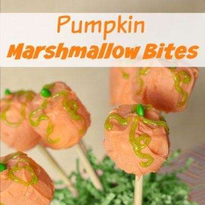 Delicious Pumpkin Marshmallow Bites Recipe