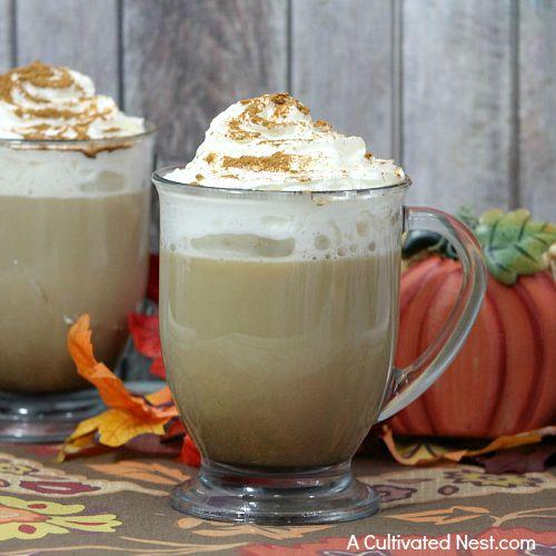 pumpkin spice latte print this delicious homemade pumpkin spice latte ...