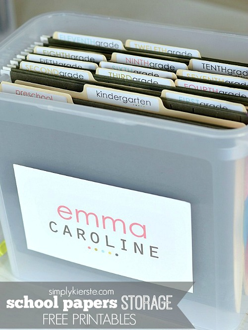 10 easy organization ideas for decluttering your personal paperwork and keeping it organized.