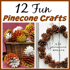 12 Fun Pinecone Crafts
