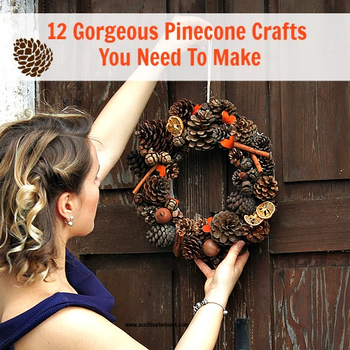 12 DIY Pinecone Crafts -Want to make an inexpensive and easy craft? If you have a lot of pinecones and don't know what to do with them, try one of these 12 fun pinecone crafts!