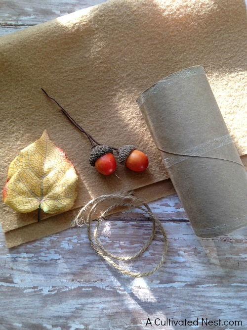 Cute DIY Thanksgiving Napkin Ring