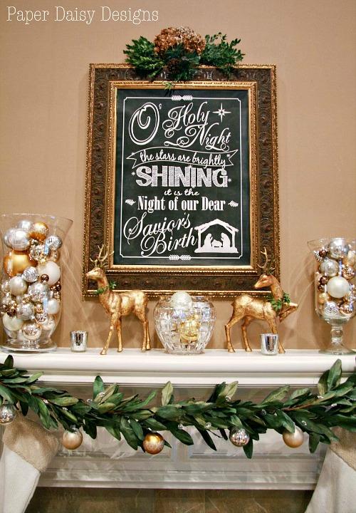 O Holy Night Free Printable Christmas Art