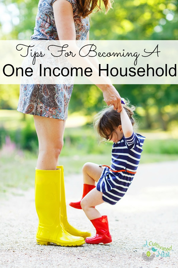 Tips For Becoming A One Income Household