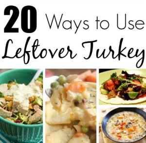 20 Ways To Use Leftover Turkey