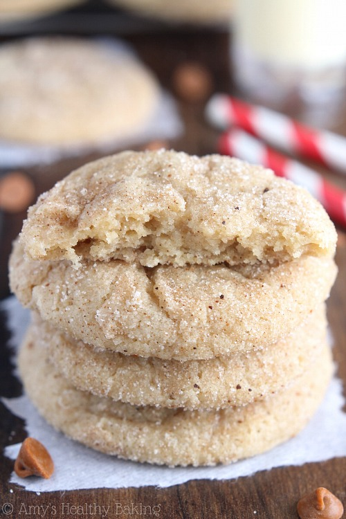 10 Yummy Christmas Cookie Recipes- Eggnog Snickerdoodle Cookies