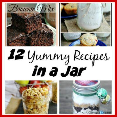 12 Yummy Recipes in a Jar