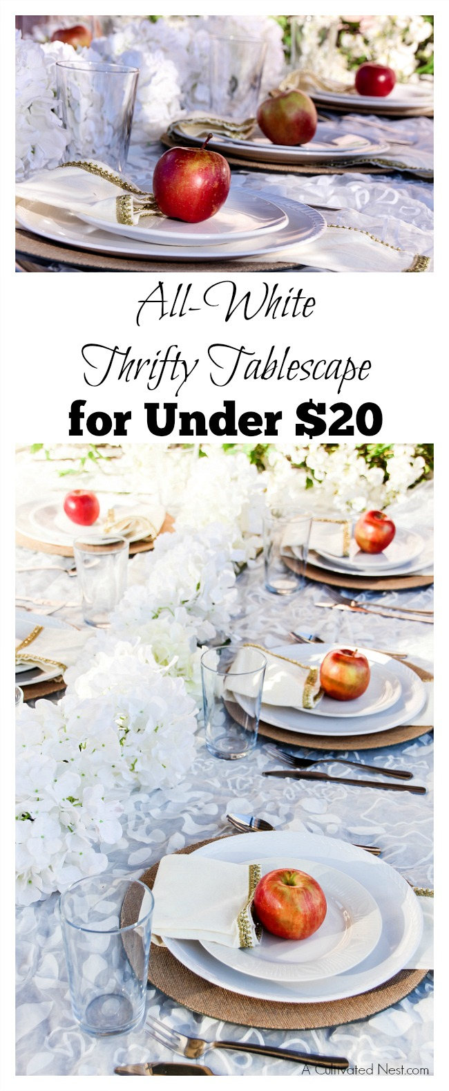 How To Put Together a Beautiful but Thrifty Tablescape. It can be easy to spend a ton of money decorating your home. However, if you're a fan of looking for deals, clearance shopping, bartering, and thrift shopping, you can come up with some amazing ideas for much less cost.