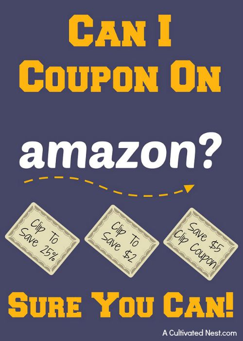 Can you use coupons on Amazon?
