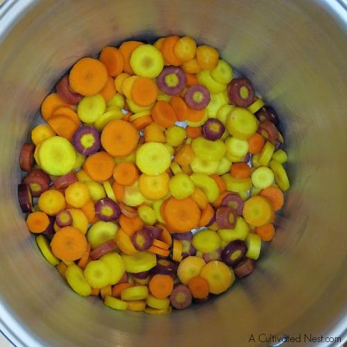 Low calorie cleansing vegetable soup