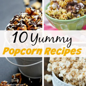 10 Yummy Popcorn Recipes