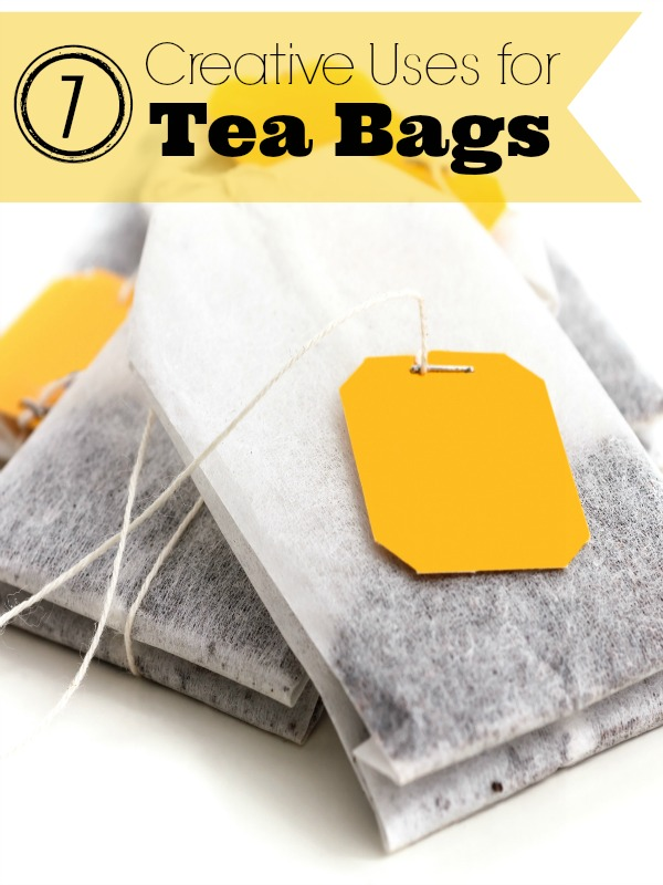7 Creative Ways to Use Tea Bags