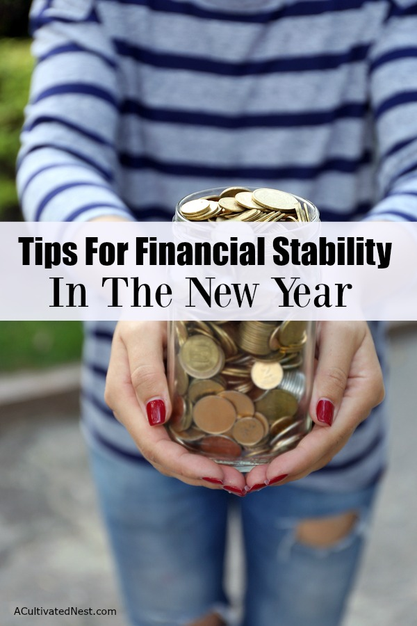 Working toward financial freedom and security is a tough thing to manage.Tips for Financial Stability