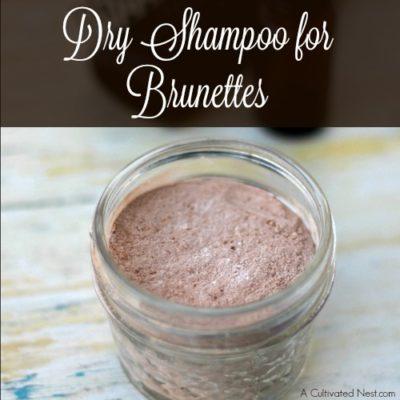 DIY Dry Shampoo for Brunettes