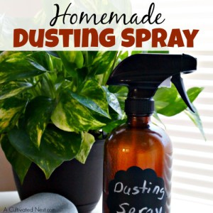 Homemade Dusting Spray
