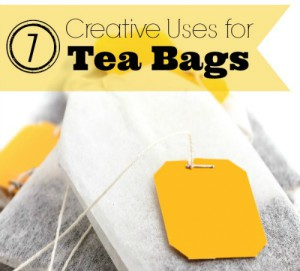 7 Creative Uses For Tea Bags