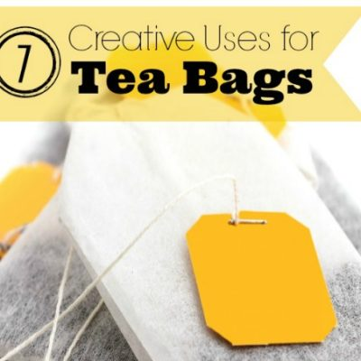 7 Creative Uses For Teabags