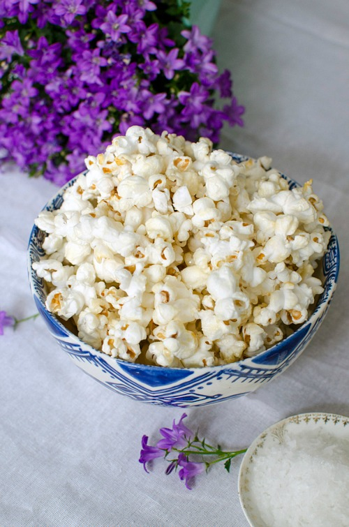 Honey Sea Salt Popcorn