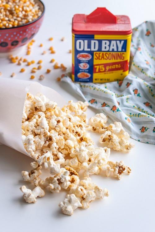Old Bay Popcorn