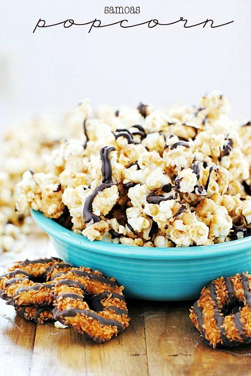 Samoas Popcorn