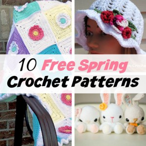 10 Adorable Free Spring Crochet Patterns