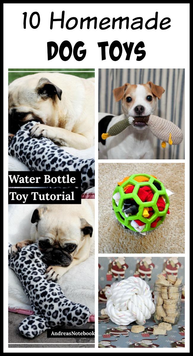 10 Homemade Dog Toys