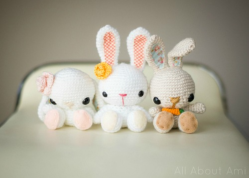 Amigurumi To Go Easter Egg Bunny : 10 Adorable Free Spring Crochet Patterns - A Cultivated Nest
