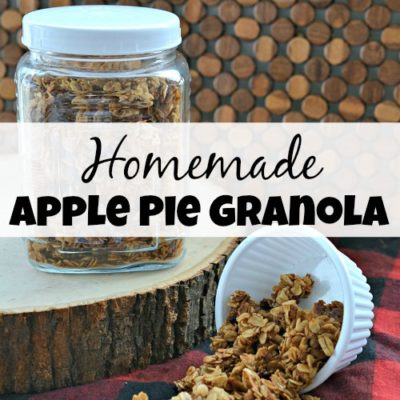Homemade Apple Pie Granola