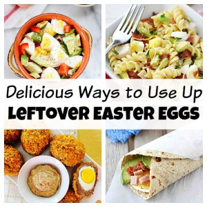 10 Delicious Ways to Use Up Leftover Easter Eggs