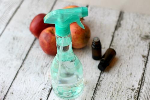 All-natural produce wash