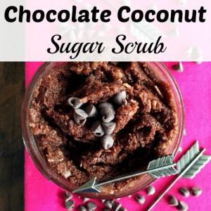 Chocolate Coconut Sugar Scrub