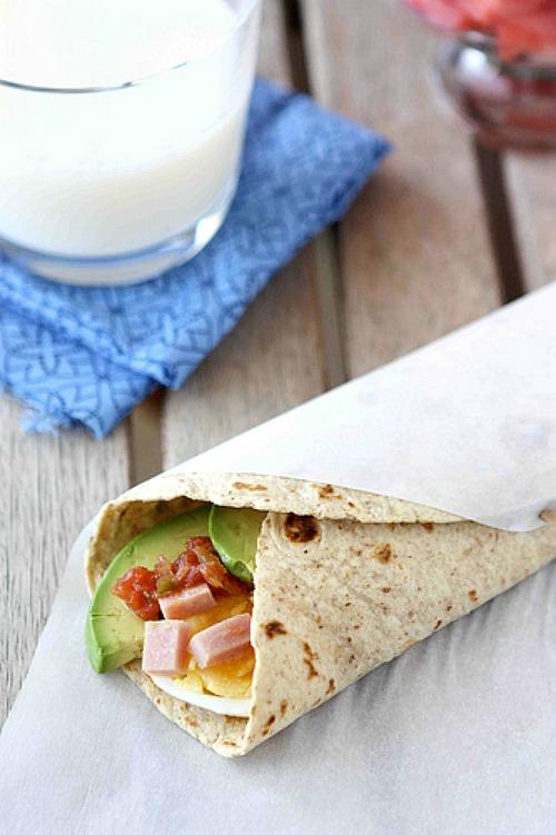 Make-Ahead Egg Wrap