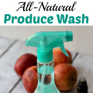 All-Natural Produce Wash