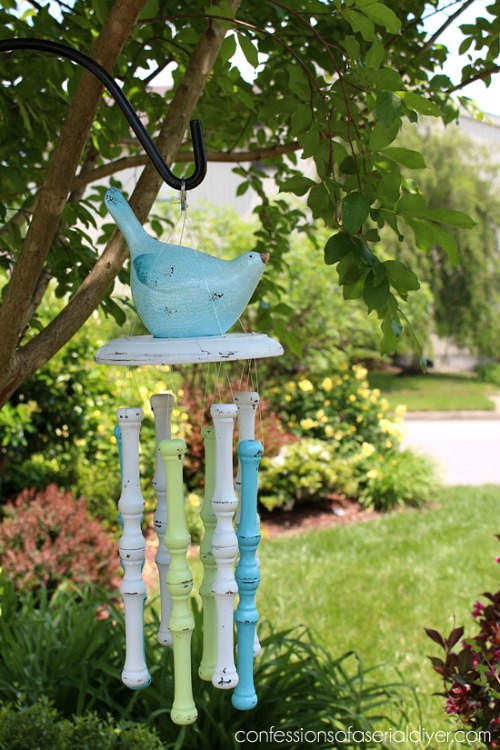 Spindle Wind Chime
