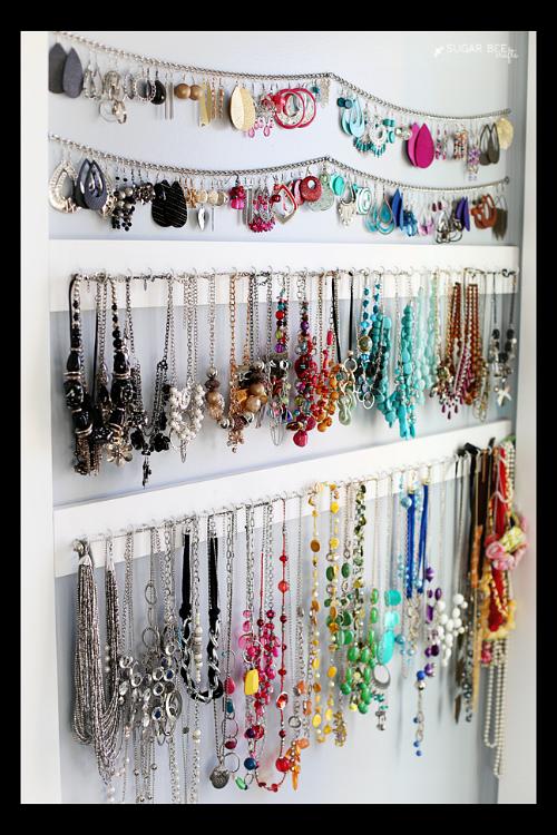 10 handy diy jewelry organizer ideas - Clever diy ways keep jewelry organized ...