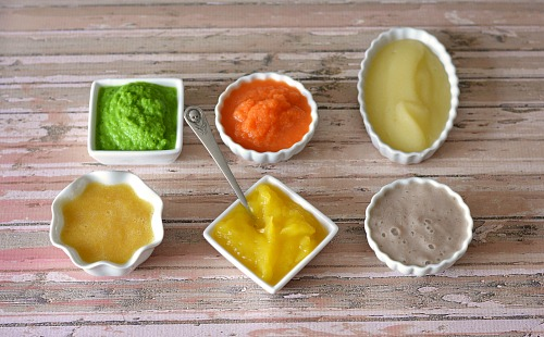 Save money by making your own baby food- finished foods