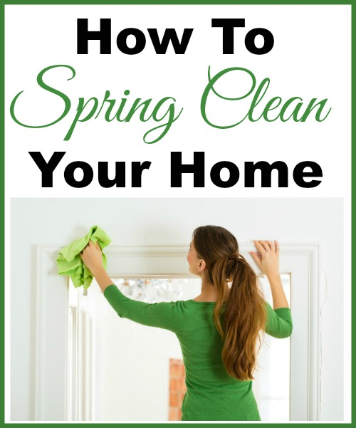 The Ultimate Guide to Spring Cleaning- If you want to give your home a wonderful deep clean this spring, you need this spring cleaning 101 guide! It includes cleaning tips and tricks, plus spring cleaning challenges to follow and free spring cleaning checklist printables to use! | deep clean your home, how to clean your home, bathroom cleaning, kitchen cleaning, #springCleaning #cleaning #cleaningTips #clean