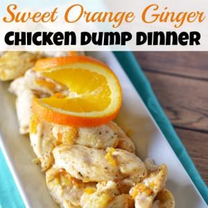 Sweet Orange Ginger Chicken Dump Dinner