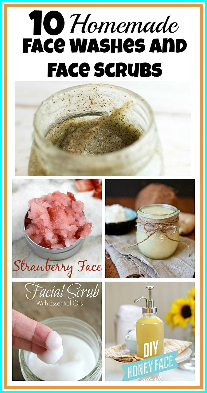 10 Homemade Face Washes and Scrubs