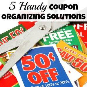 5 Handy Coupon Organizing Solutions